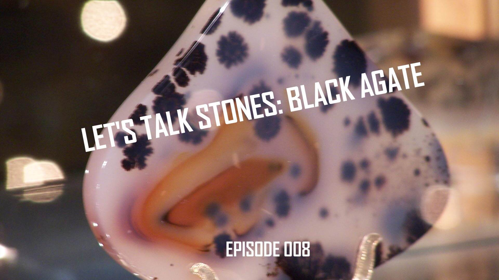 Let's Talk Stones: Black Agate Beads and Metaphysical World