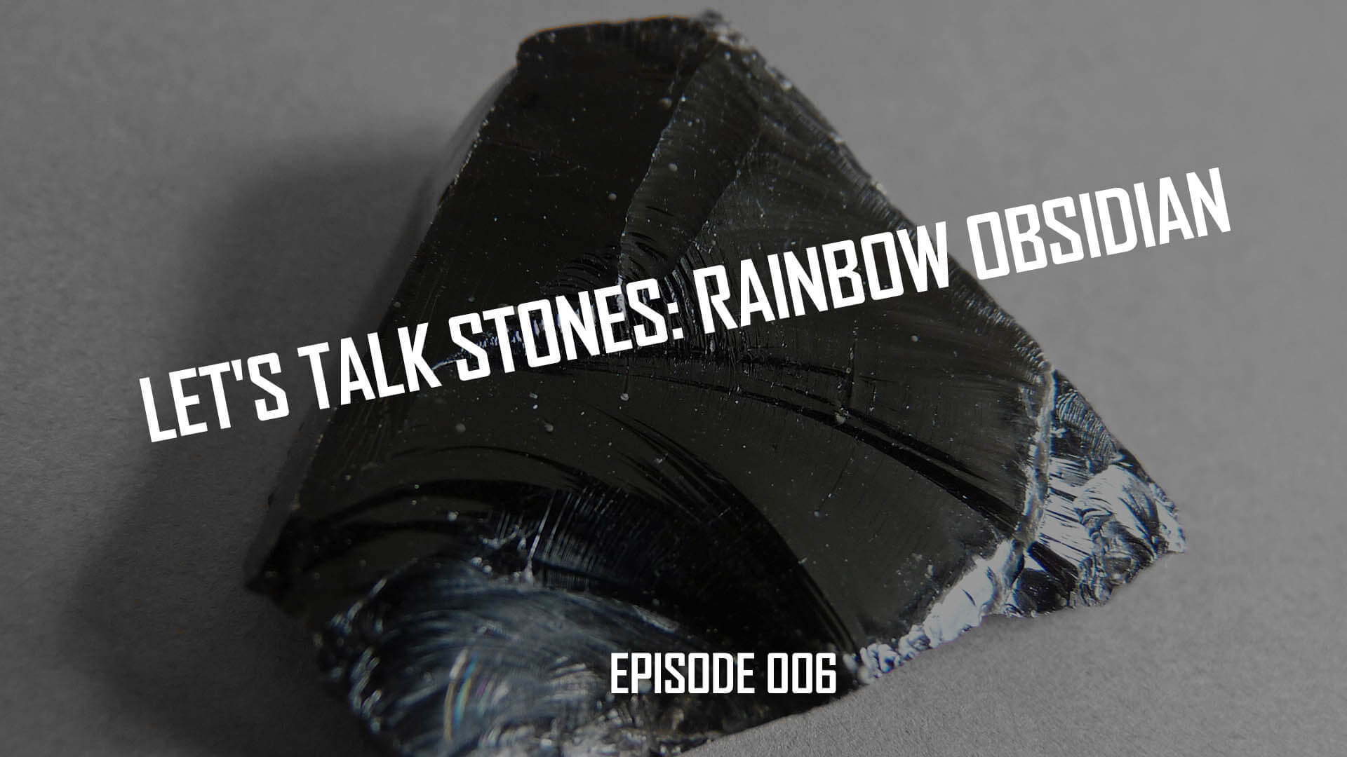 Let's Talk Stones: Black Obsidian Beads & Benefits (006)