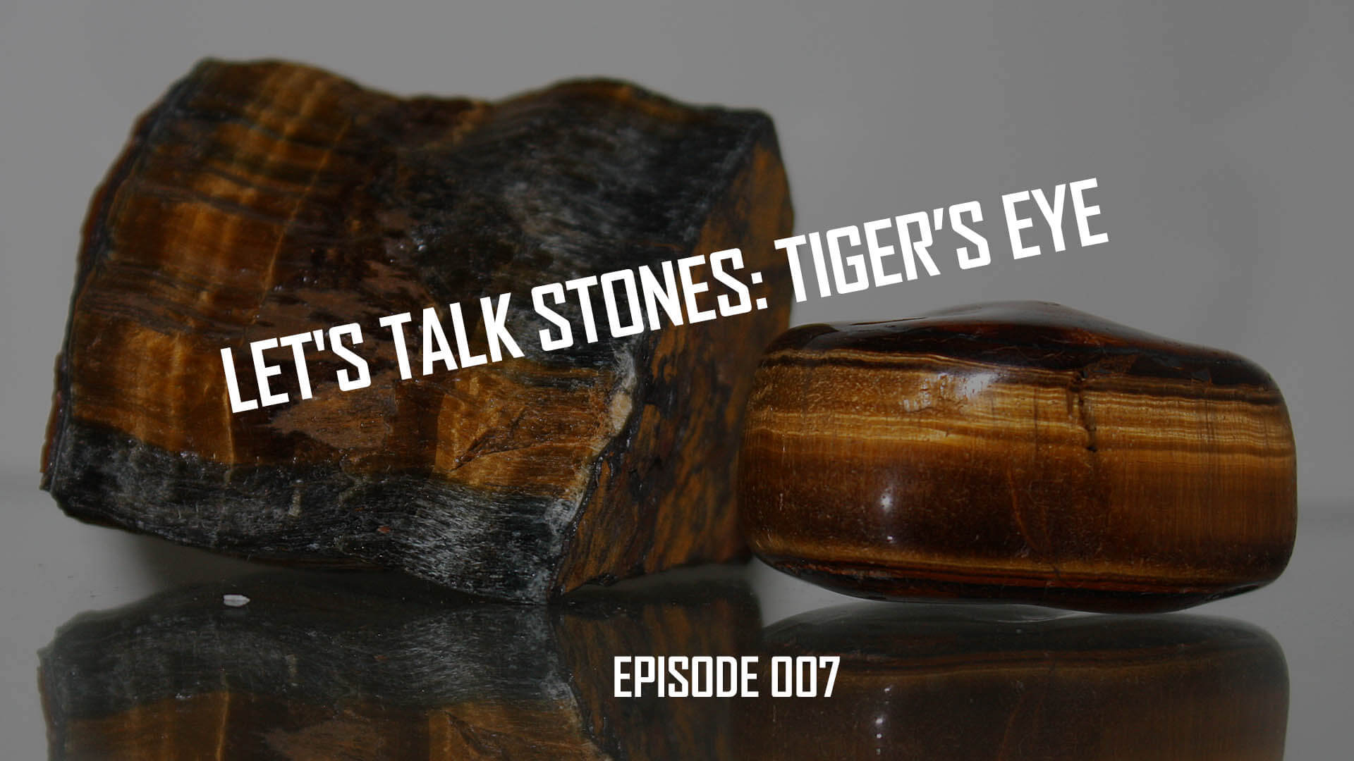 Let's Talk Stones: Tiger's Eye Bead History and Benefits (007)