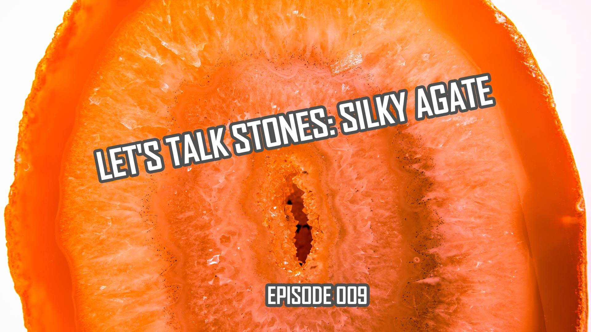 Let's Talk Stones: Silky Red Agate Beads and Metaphysical Benefits (009)