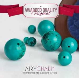 Artificial Turquoise Loose Beads