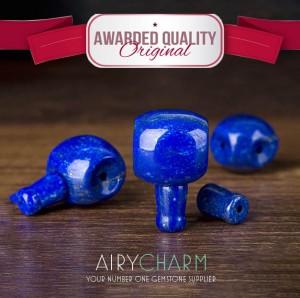Lapis lazuli Spacer Beads