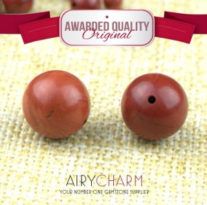 Red Porcelain Agate Loose Beads