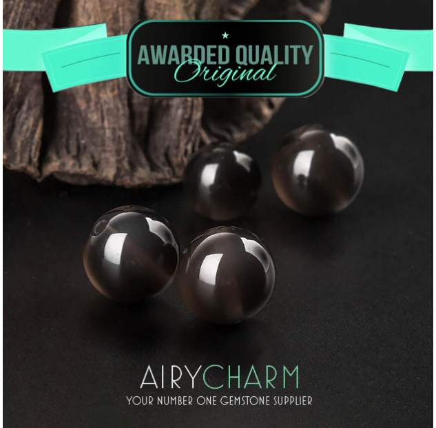 Obsidian Loose Beads