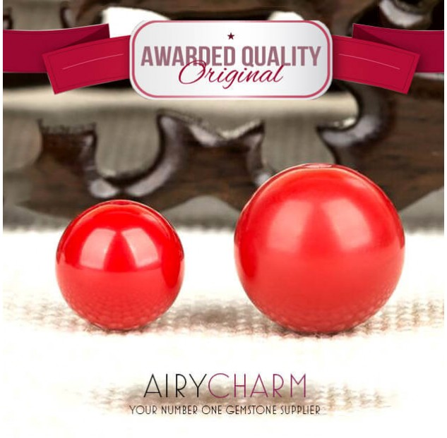 Red Cinnabar Loose Beads