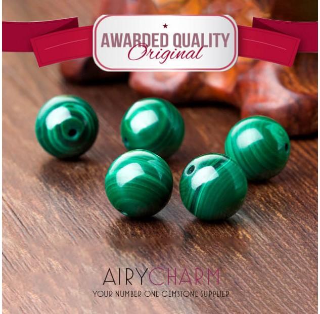 Malachite Loose Beads