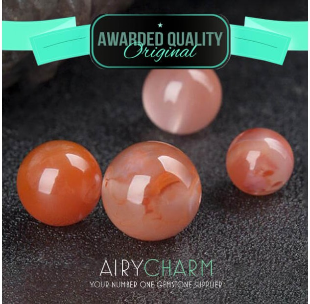 Southern Red Agate Loose Beads