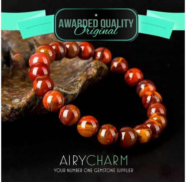 Zhanguo Red Agate Bead Bracelet